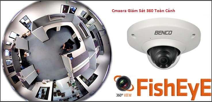 camera giám sát toàn cảnh giá rẻ chất lượng