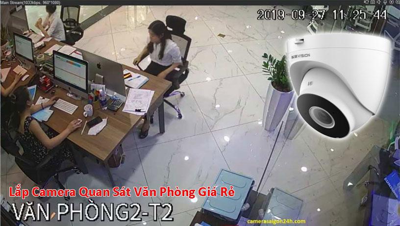 lắp camera giám sát văn phòng giá rẻ chất lượng