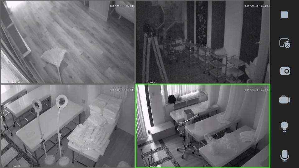 hình ảnh camera wifi không dây lắp camera ngoài trời