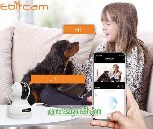 Camera Wifi EbitCam E3 1080P mới nhất 2020 Camera WIFI IP Ebitcam E3(2MP). Hiện tại với rất nhiều thương hiệu camera IP Wifi với đủ mức giá khác nhau, camera IP wifi Ebitcam như một điểm sáng vượt