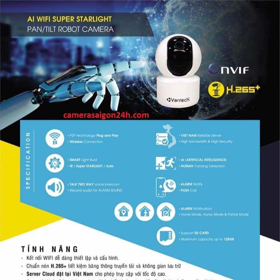 Lắp đặt camera quan sát AL wifi giá rẻ