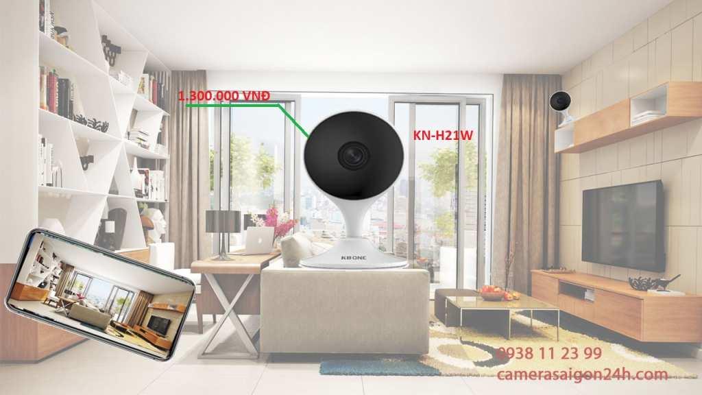 lắp đặt camera quạn sát wifi kbone giá rẻ