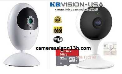 lắp camera wifi cube hikvision, kbvision
