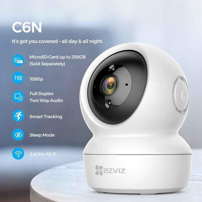 Camera wifi Xoay 360 EZVIZ CS-C6N giá rẻ tiết kiểm chi phí
