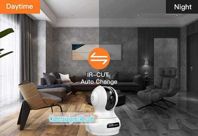 Camera IP Wifi Ebitcam E3 phân giải 2.0MP 1080P siêu nét Camera Không Dây Wifi Mới 2020 - Xem Trên Điện Thoại Dễ Dàng