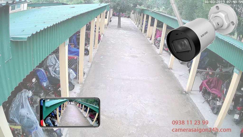 lắp camera giám sát an ninh giám sát qua điện thoại