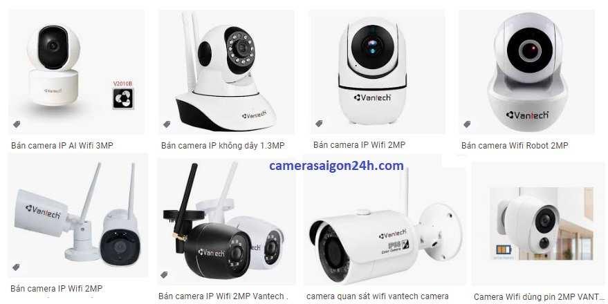 phân phối camera wifi vantech chất lượng giá rẻ