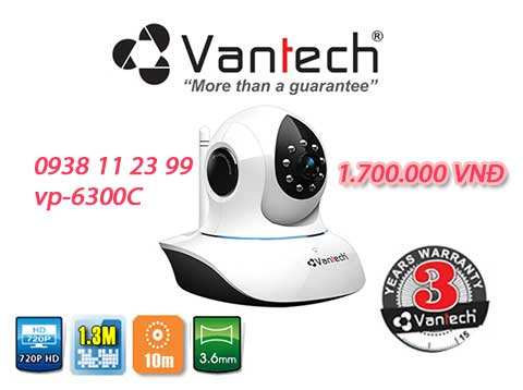 lắp camera wifi vantech vp 6300a