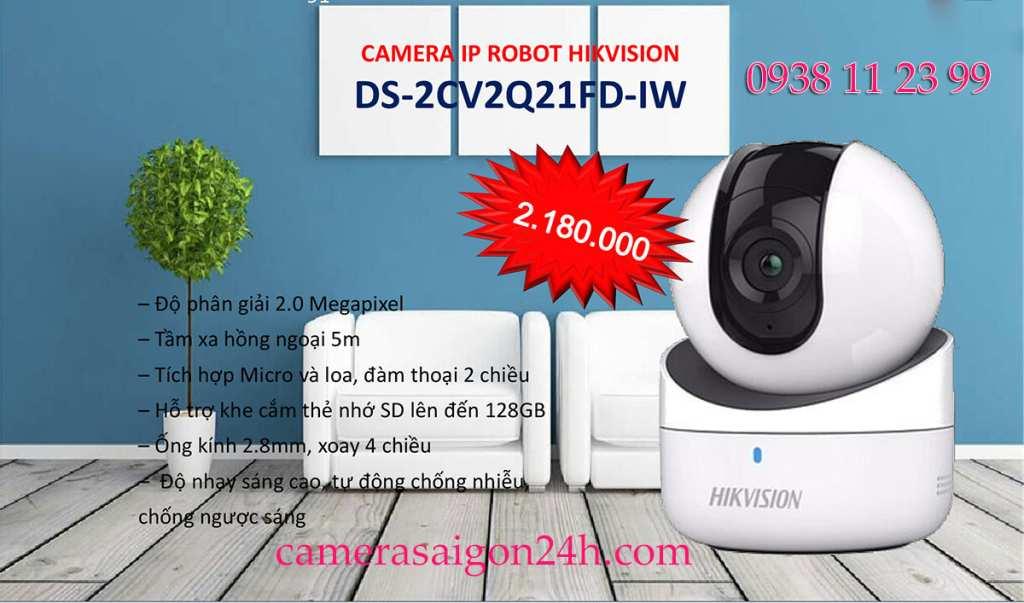 lắp đặt camera gia đình giá rẻ giám sát qua điện thoại hikvision