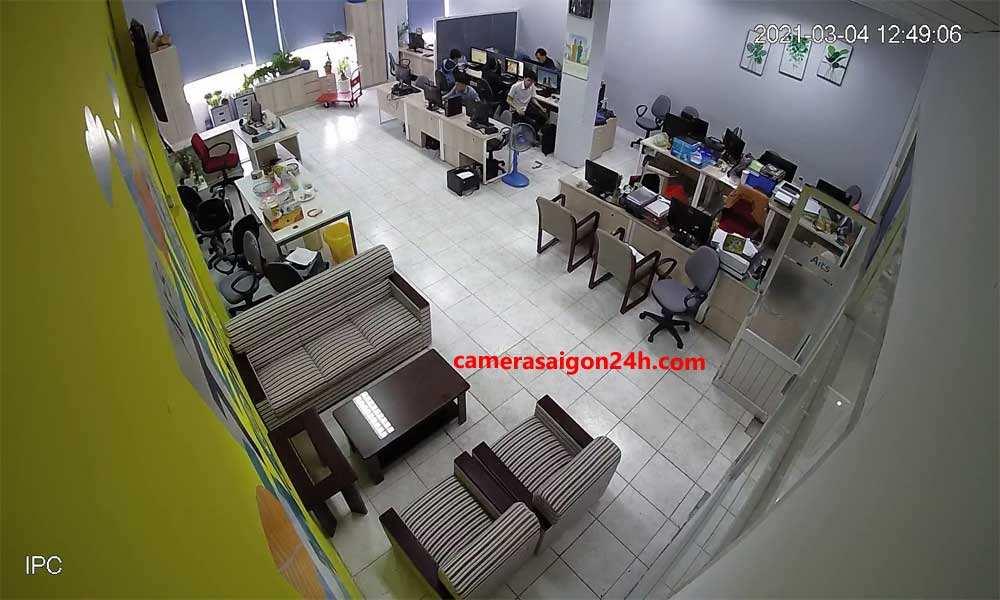 công trình camera IP wifi