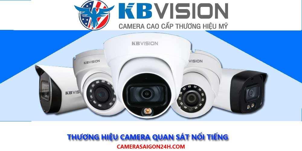 phân phối camera quan sát chính hãng  KBVISION