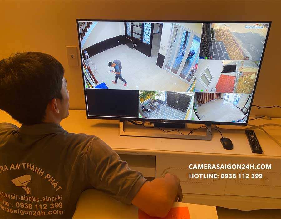 công trình thực tế camera An Thành Phát