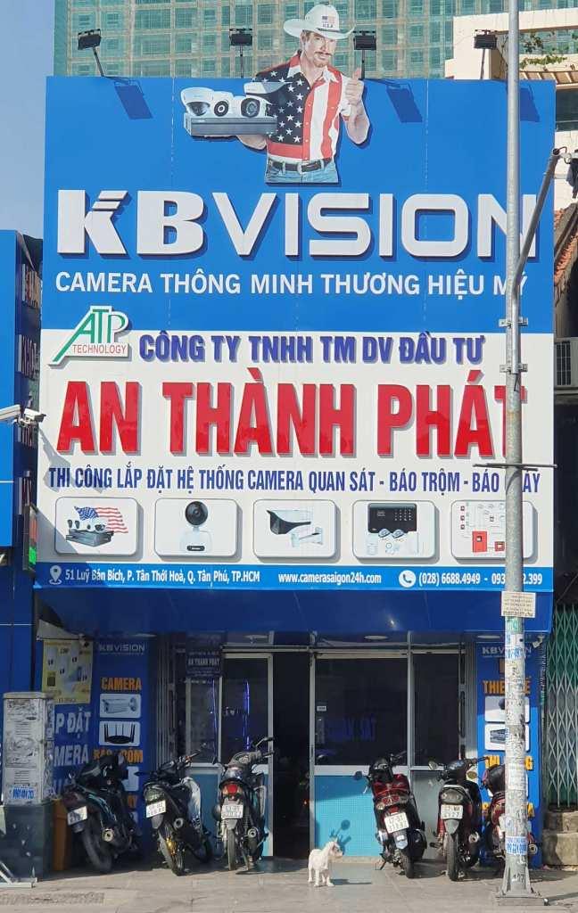 lap dat camera kbvision USA tại công ty camera An Thành Phát