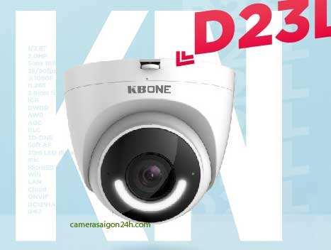 Lắp camera wifi chính hãng KN-D23L tích hợp nhiều chức năng thông minh