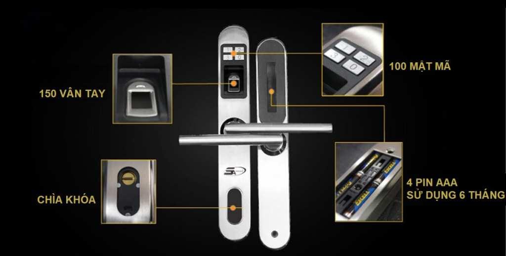 Do đó, loại khóa cửa này có mặt ở khắp mọi nơi từ gia đình đến văn phòng, bệnh viện Khóa Vân Tay Nhập Khẩu Châu Âu - Nguyên Seal Chính Hãng.Bạn đang muốn tìm mua loại khóa cửa vân tay mà