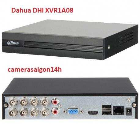 Đầu ghi hình và IP 8 kênh DAHUA XVR1A08