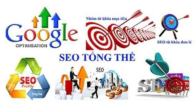 Dịch vụ seo từ khóa lên google tổng thể