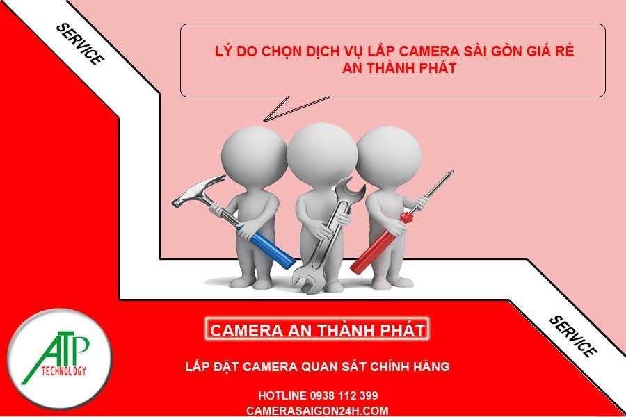 vì sao chọn lắp camera Sài Gòn giá rẻ An Thành Phát