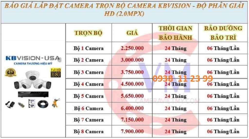 Giá lắp camera quan sát gia đình giá rẻ tiết kiệm chi phí