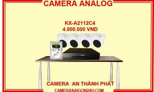 đặc điểm của camera analog