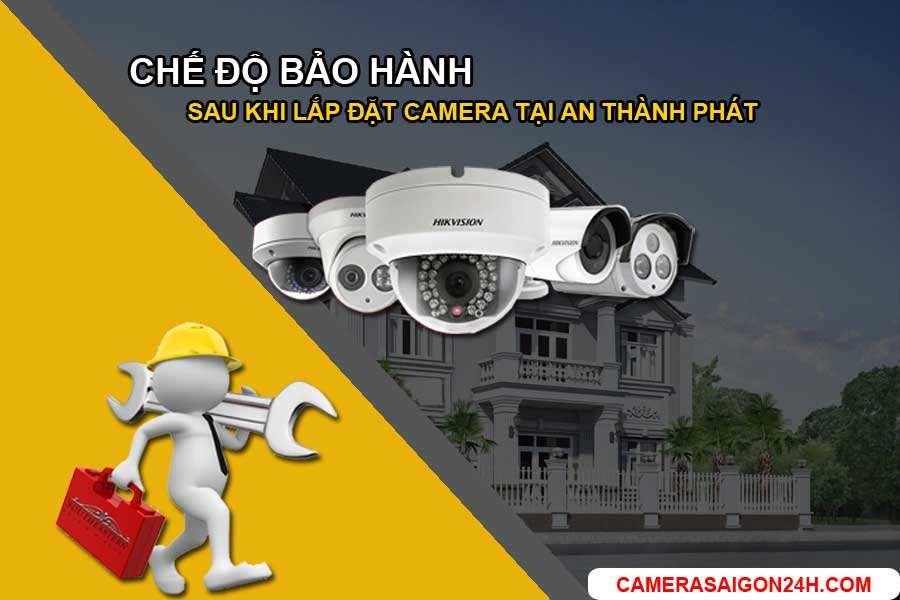 chế độ bảo hành sau khi lắp đặt camera tại công ty An Thành Phát