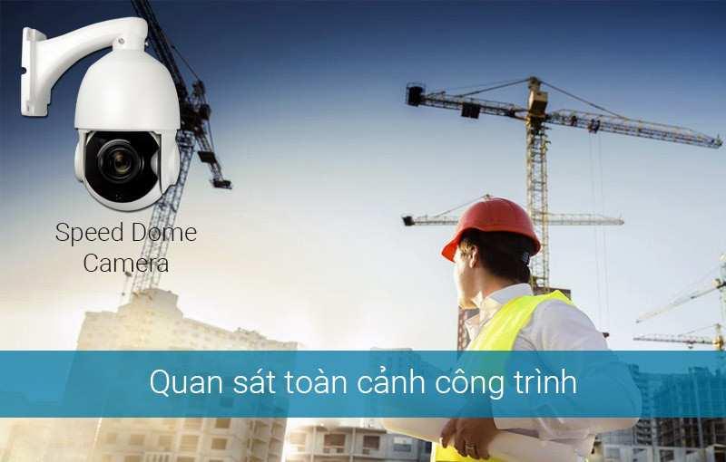Giải pháp camera cho công trình đang thi công, công trình xây dựng, công trường sẽ giúp hỗ trợ cho các nhà thầu thi công cũng như giúp chủ