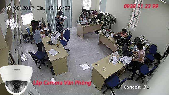 Góc Lắp Camera Văn Phòng Phù Hợp