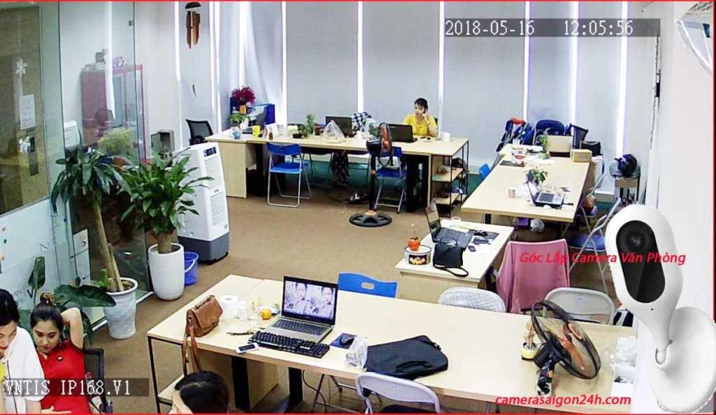 Góc Lắp Đặt Camera Văn Phòng