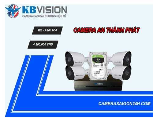 camera giám sát kbvision chất lượng cao