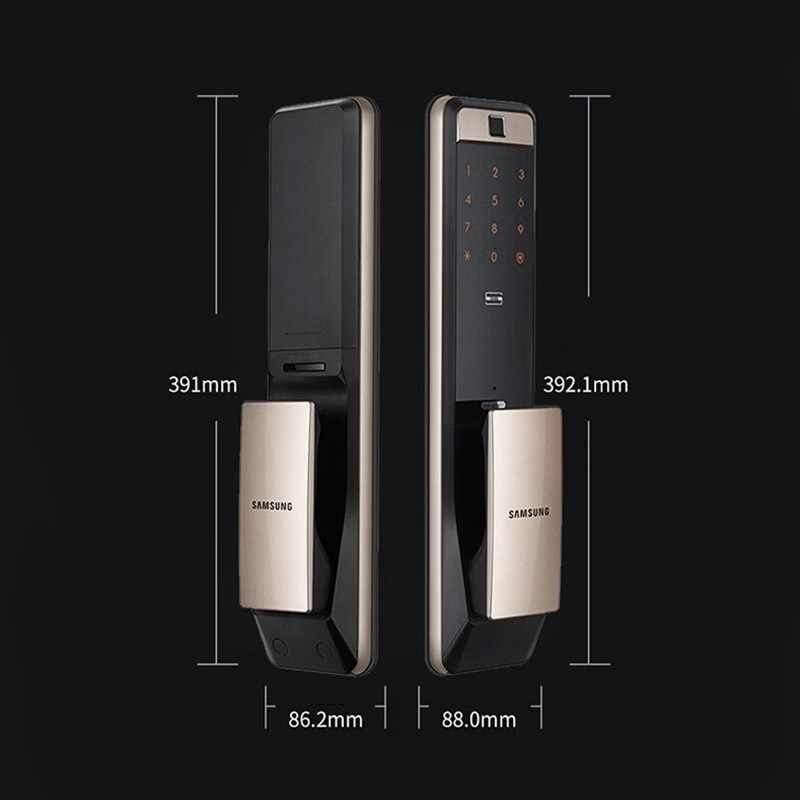 KHÓA CỬA VÂN TAY SAMSUNG,UNICOR, YALE, DESSMANN Khóa cửa vân tay Samsung mở bằng Wifi vân tay, thẻ từ, mã số, chìa cơ và điện thoại. Thiết kế hiện đại, công nghệ vân tay lưới mới nhất, đa hướng. Có thể gọi