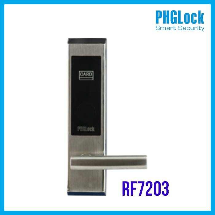 Khóa thông minh cho khách sạn PHGLOCK RF7203 (Bạc)