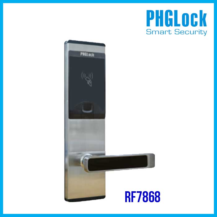 Khóa thông minh cho khách sạn PHGLOCK RF7868