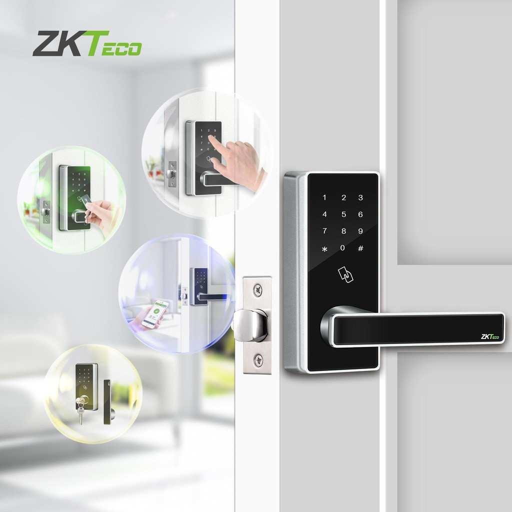 Khóa cửa thông minh cho gia đình ZKTECO DL30B
