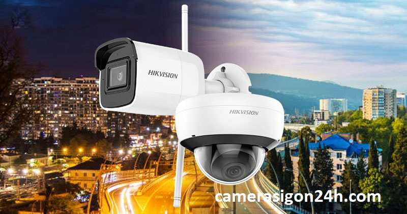 lắp camera wifi hikvision giá rẻ ngoài trời