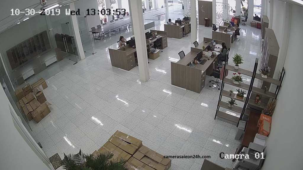 Lắp đặt camera quan sát dành cho công ty