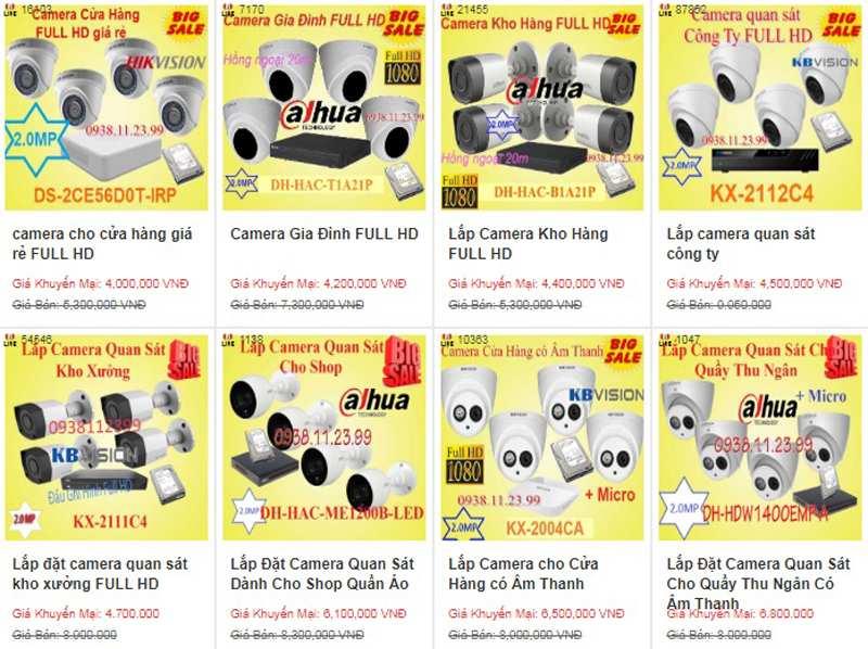 Mua camera quan sát chất lượng giá rẻ