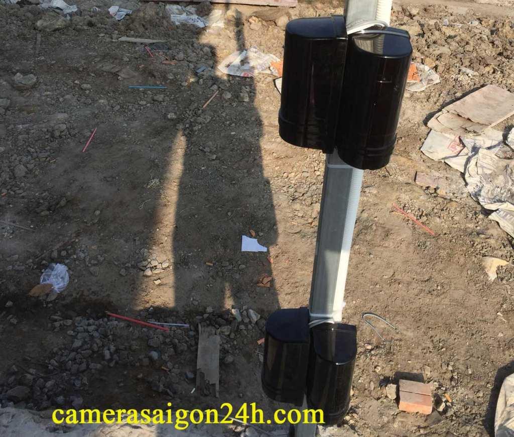 lắp camera giám sát báo động hàng rào