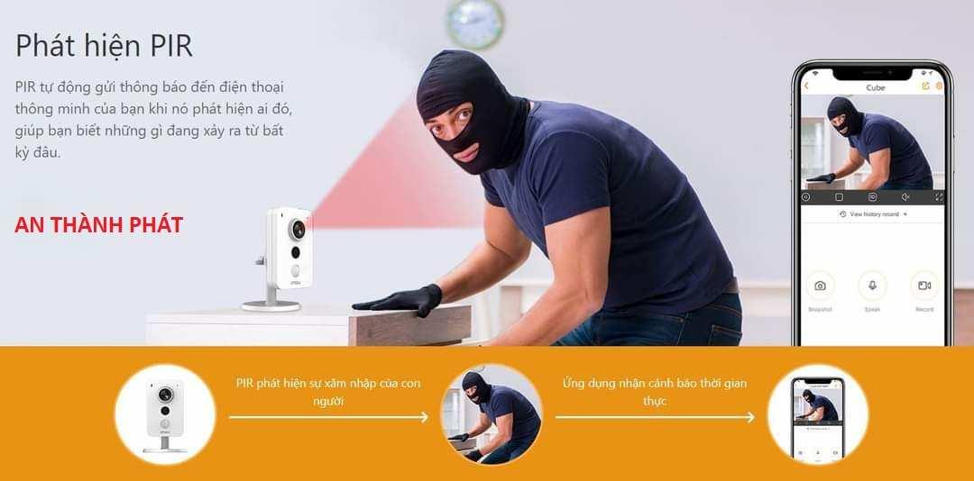 Lắp camera quan sát giá rẻ giám sát báo động chống trộm cho gia đình qua điện thoại