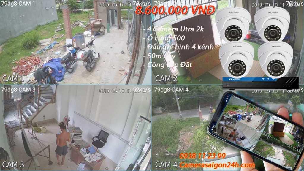lắp camera quan sát cửa hàng chất lượng ULtra 2k