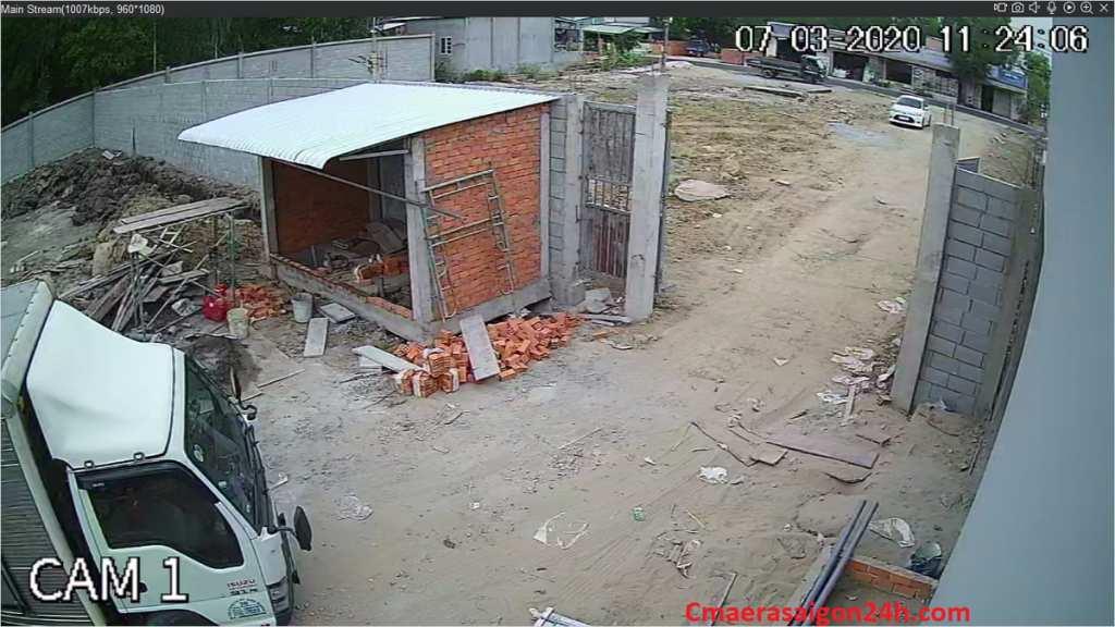lắp camera giám sát cổng ra vào của trang trại