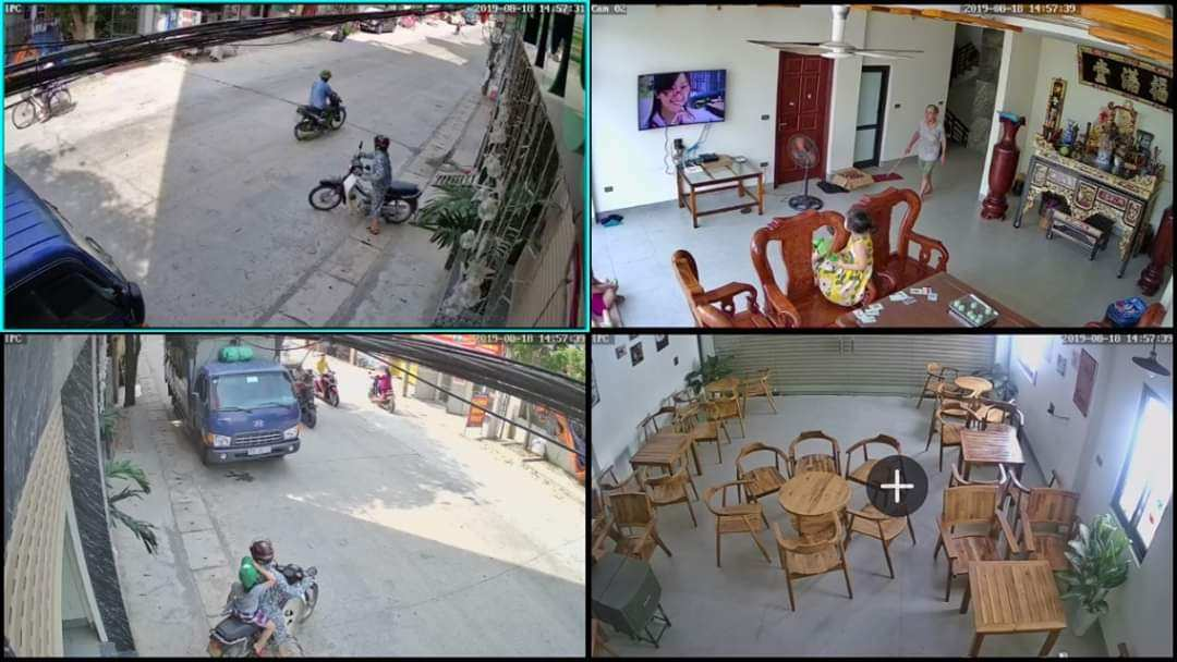 lắp camera giám sát gia đình giá rẻ Dahua