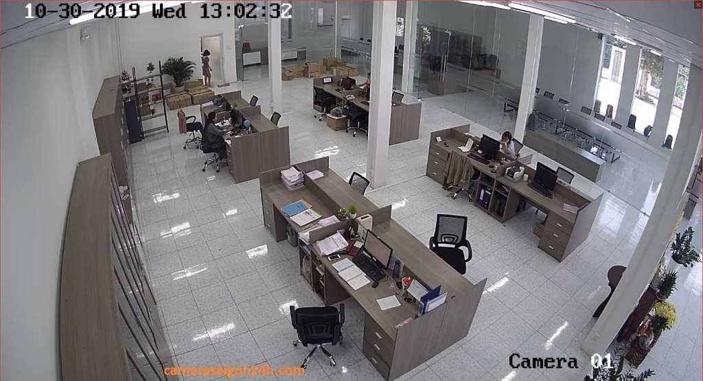 lắp camera kbvision tích hợp micro chất lượng