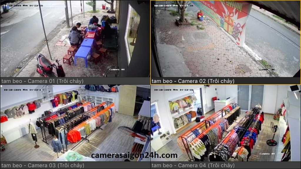 Lắp đặt camera quan sát thời trang chất lượng