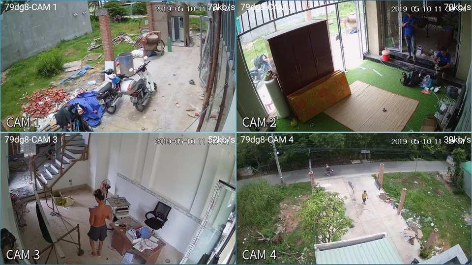 lắp camera giám sát gia đình giá rẻ chất lượng