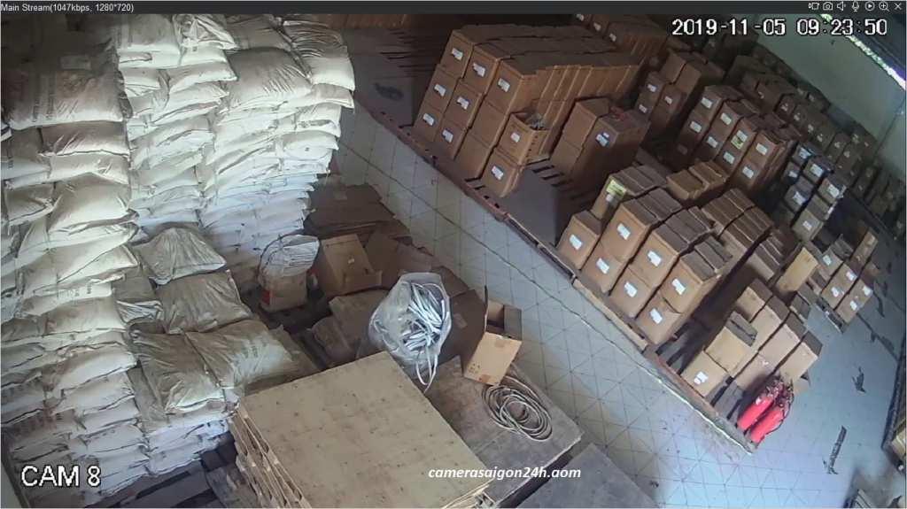 lắp đặt camera quan sát kho xưởng kx-2011c4