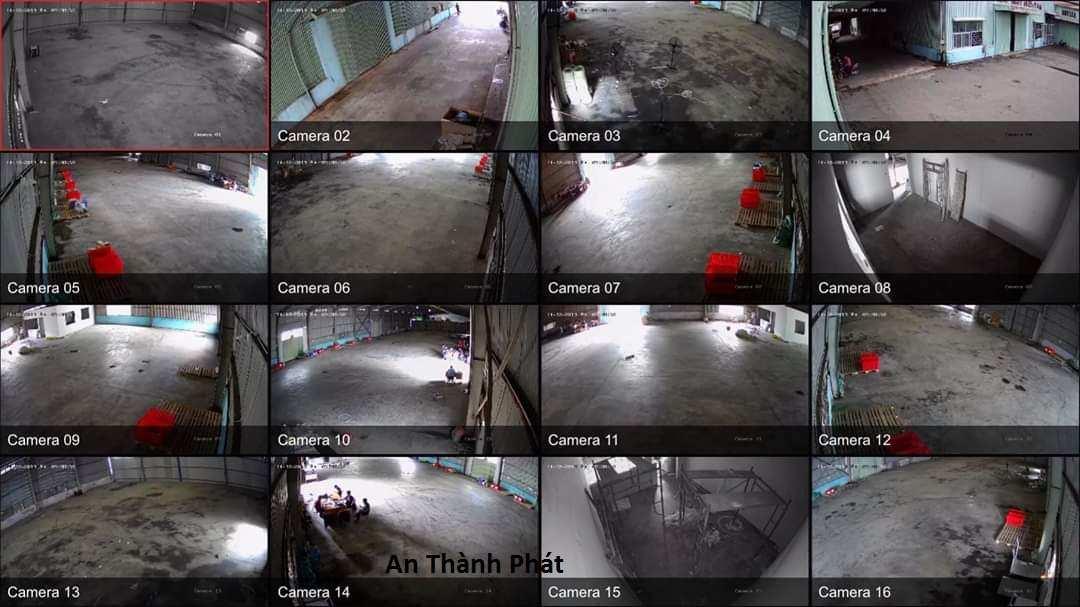 lắp camera giám sát nhà xưởng giá rẻ chất lượng tốt hình ảnh HD