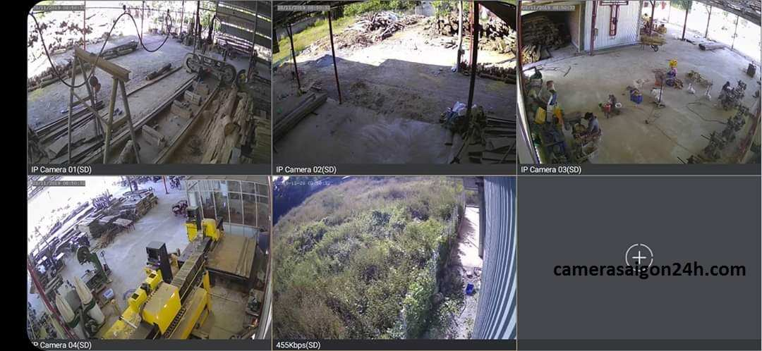 lắp camera giám sát nhà xưởng giá rẻ