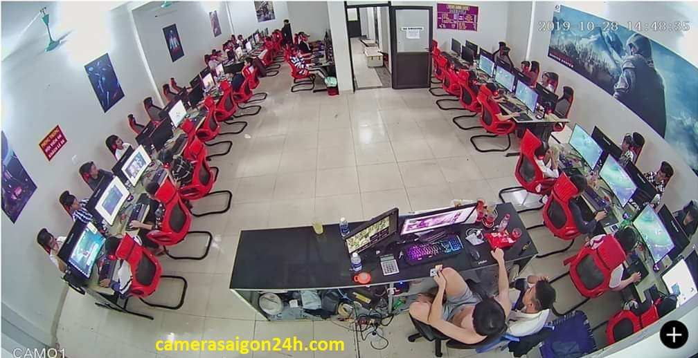 lắp camera giám sát văn phpong, phòng net