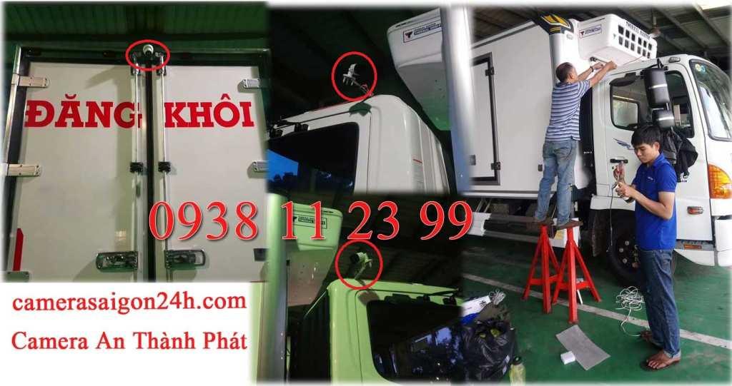 lắp camera giám sát trên xe lạnh, xe tải