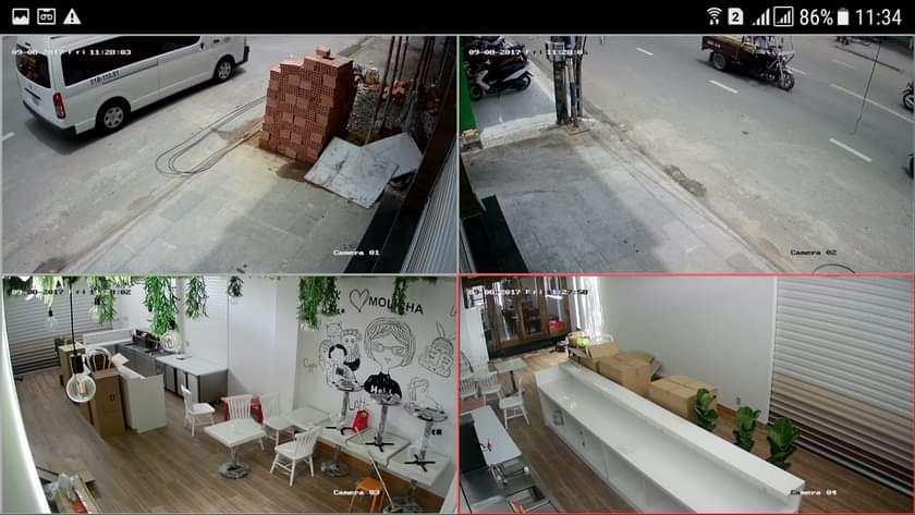 lắp camera giám sát  văn phòng gia đình cửa hàng chất lượng